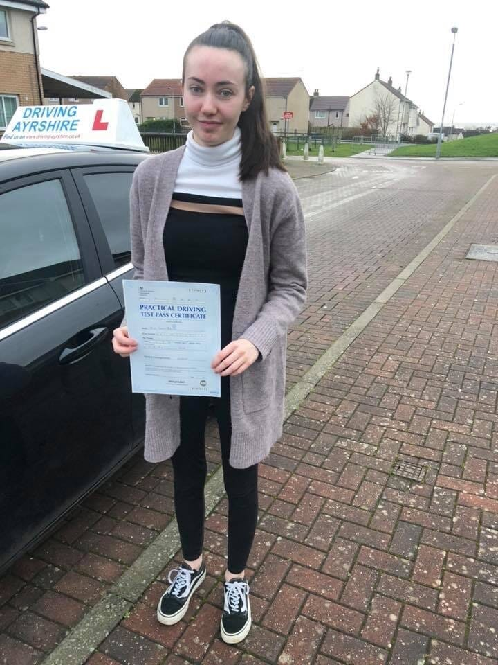 Candis Barlow - Saltcoats driving lessons