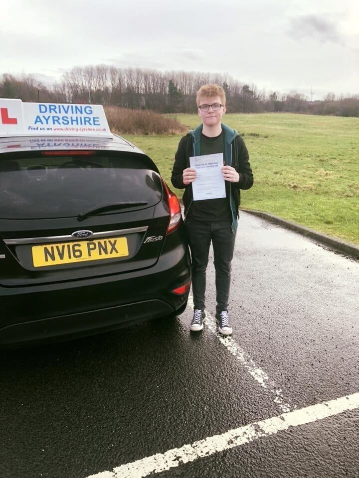 John Galloway - Saltcoats driving lessons